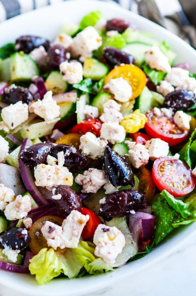 Greek Salad Restaurant Recipe