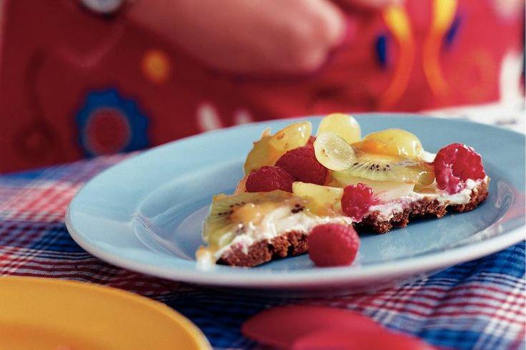 Kijk wat een lekker recept ik heb gevonden op Allerhande! Platte fruitkoek
