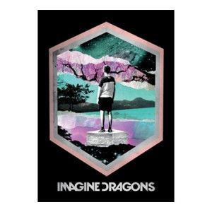 Imagine Dragons Framed Fabric Poster - Rock out with this Imagine Dragons Framed Fabric Poster.This product is a textile poster that includes Framed graphics from the band's debut studio album Night Visions. This poster measures 30 x 40.
