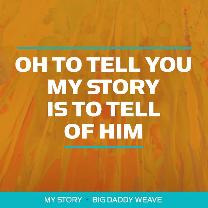 Hear #MyStory by Big Daddy Weave on #WOWHits2017!  Listen to the album on Apple Music: http://klove.cta.gs/22a