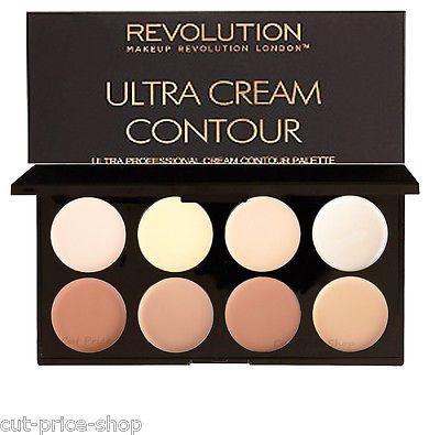 Cream Contour Palette Makeup Revolution Contouring Face Palette %9.95