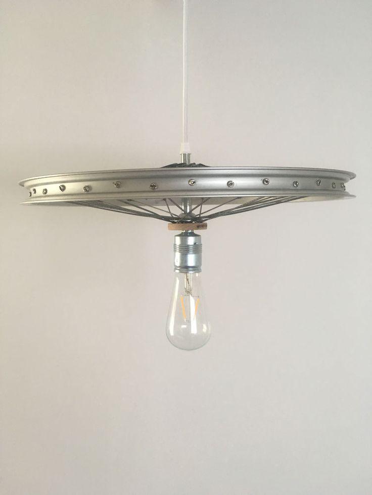 Hanglamp fietswiel (diverse varianten-> zie foto's)