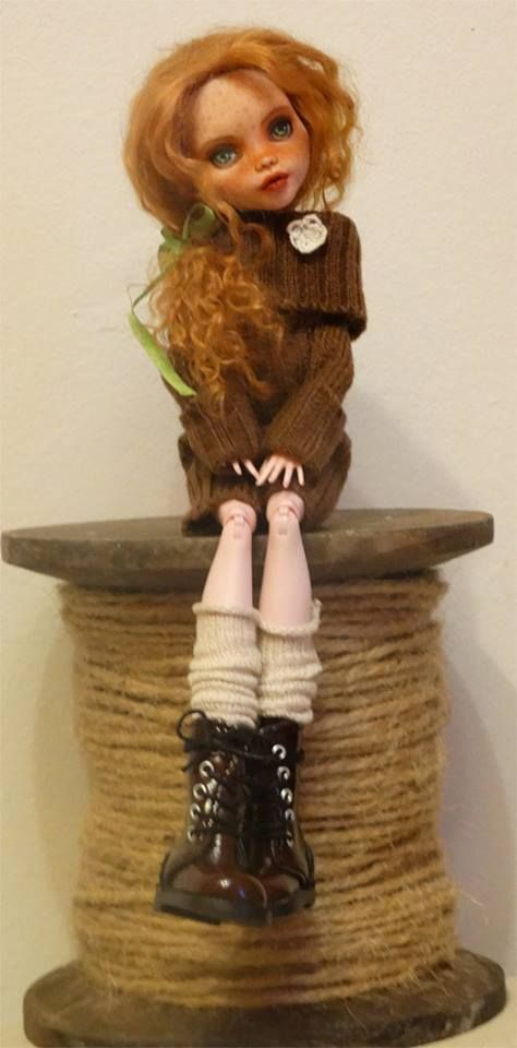custom doll and clothing by Noemi Pascual                              …