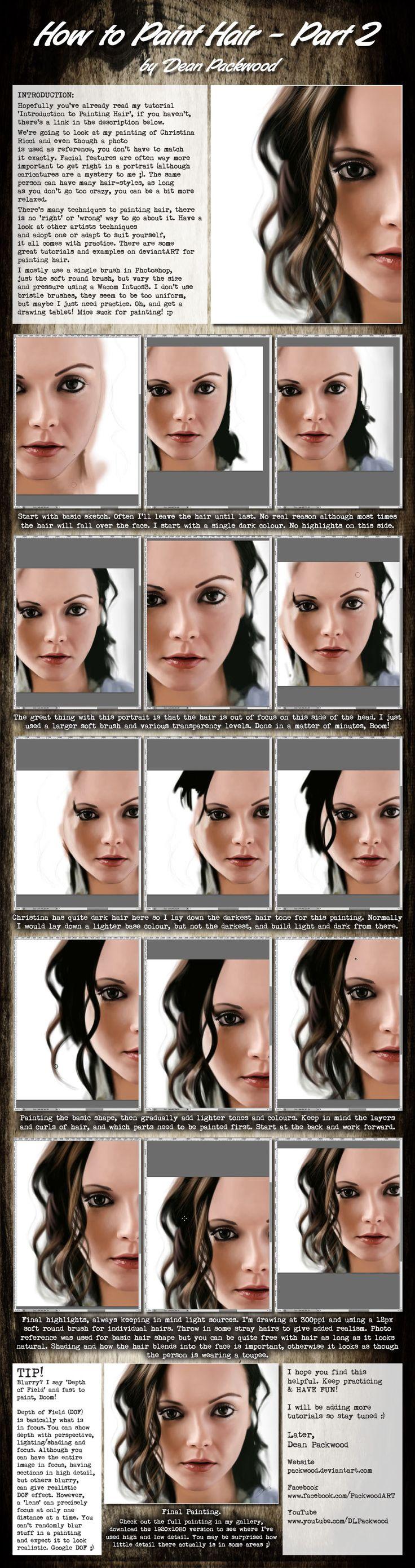 photo retouch - Photoshop Tutorials - CreateBlog