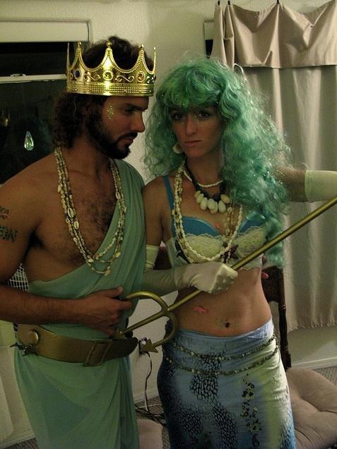 Poseidon Halloween Costume