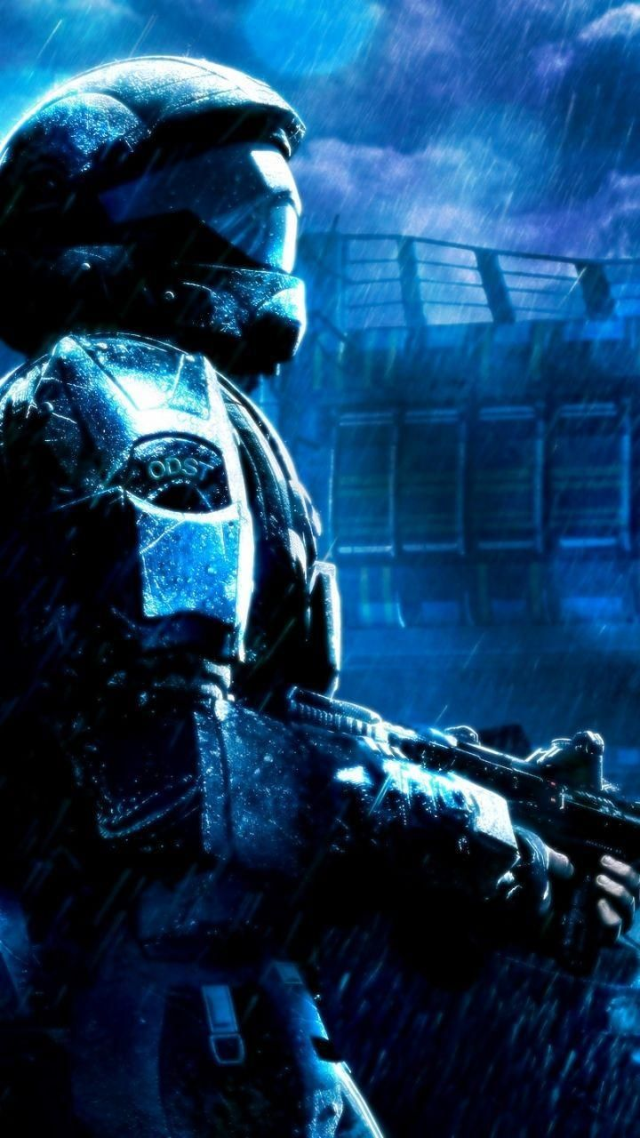 Halo Odst Wallpaper In 2020 Halo 3 Sci Fi Wallpaper Halo Video Game