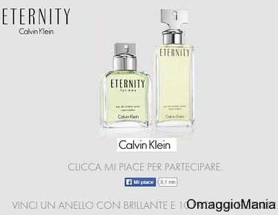 Concorso a premi Calvin Klein in palio Anello e profumo Eternity  - http://www.omaggiomania.com/concorsi-a-premi/concorso-premi-calvin-klein-palio-anello-e-profumo-eternity/