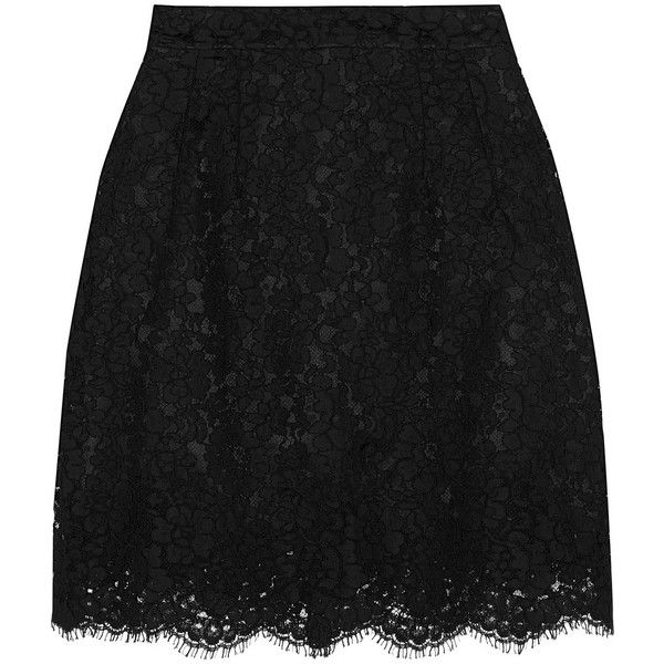 Dolce & Gabbana Lace mini skirt ($905) ❤ liked on Polyvore featuring skirts, mini skirts, bottoms, black, lace skirt, lacy slip, lace mini skirt, short skirts and black slip