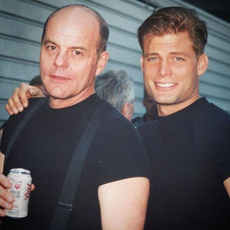 Michael Ironside & Casper Van Dien in #StarshipTroopers (1997).