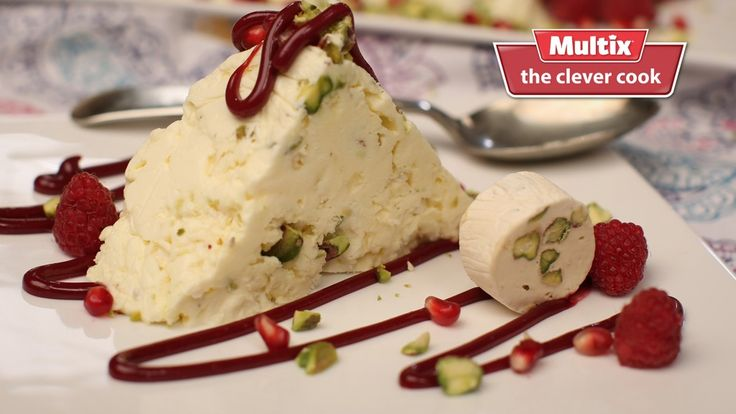 Looking for another easy dessert option for your Christmas feast check out for our amazing semi freddo (yes it just means semi frozen). It really is the ultimate stress free sweet. Meringue pistachio semifreddo with red fruits