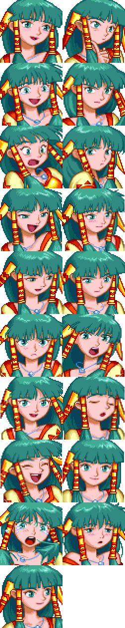 Grandia (1997, PS1) - Feena
