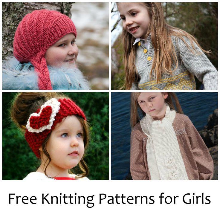 Free Knitting Patterns for Girls