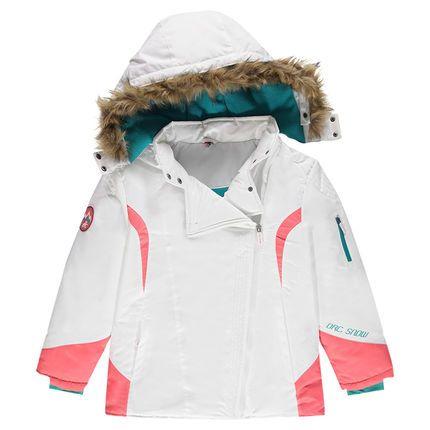 Júnior - Cazadora de esquí con forro de micropolar con capucha extraíble  Main