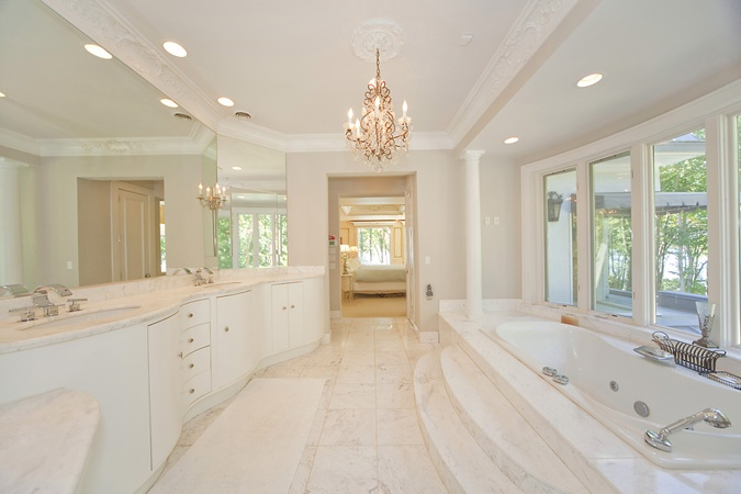 Bathroom Remodeling In Lynchburg Va : Definitely not white but very spacious bathroom dream