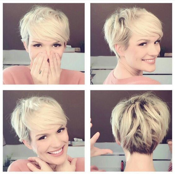 Super Short Pixie Haircuts