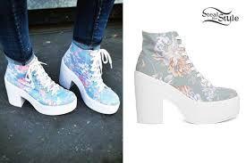 scarpe con i brillantini