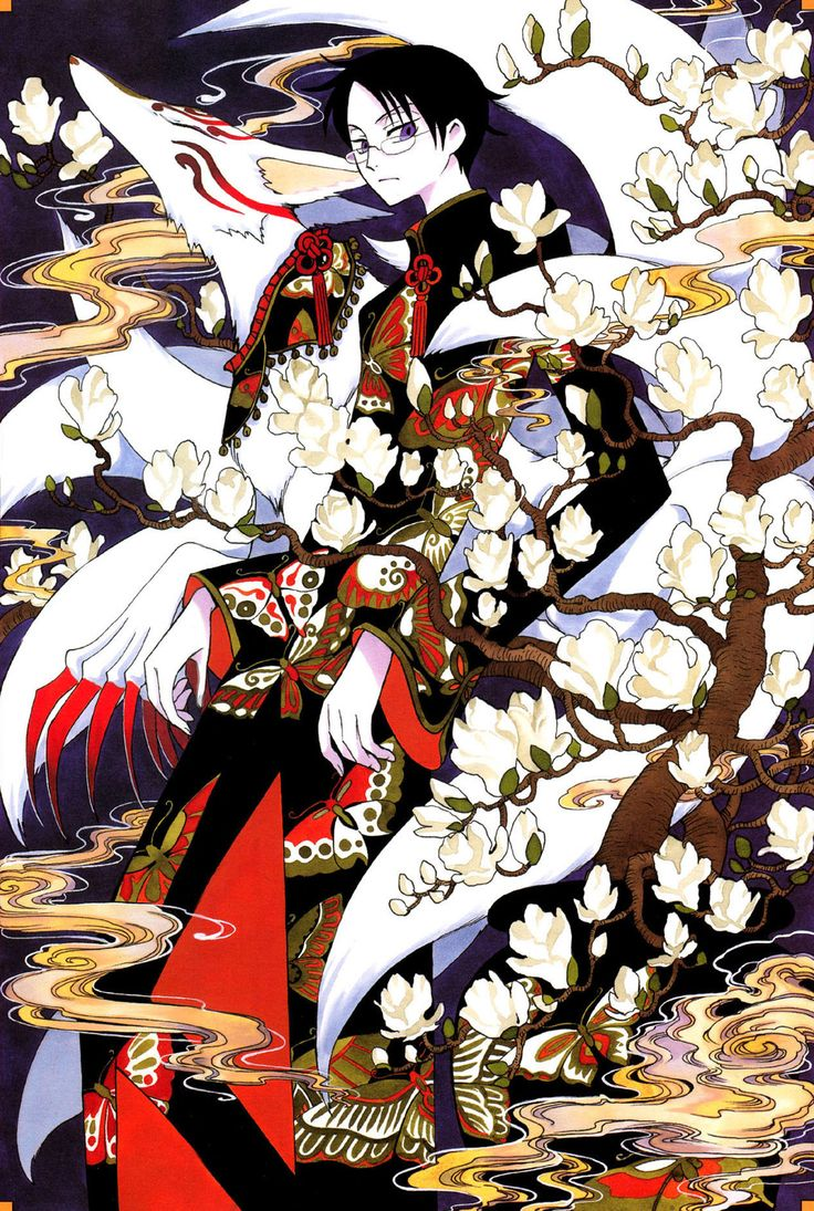 xxxHolic - CLAMP. Watanuki. It's amazing how much he changes along the storyline.