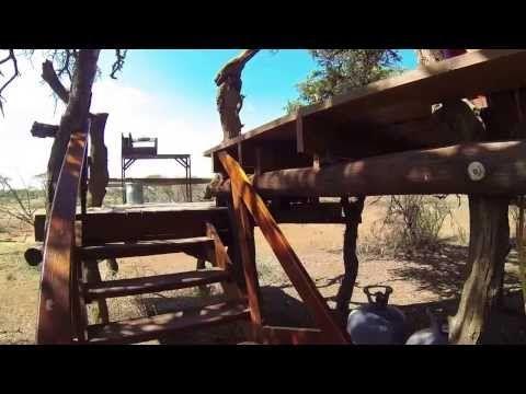 Mokala Treehouse overlooking the Waterhole - YouTube