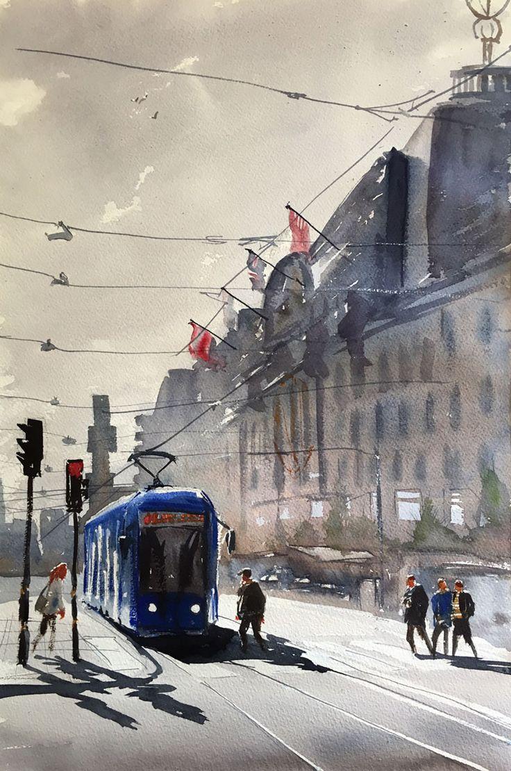 NK-huset. Stockholm, Stefan Gadnell, SÅLD