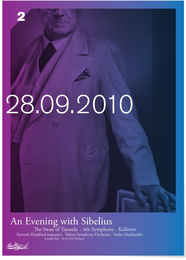 Poster, An Evening with Sibelius