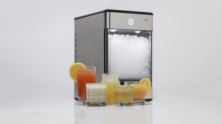 Opal Nugget Ice Maker for Home Use - http://DesireThis.com/3856 - Nugget ice, the popular soft, chewable ice especially favored in the South and associated with restaurant chains and convenience stores, can now be enjoyed at home with the affordable Opal nugget ice maker from GE's FirstBuild. Available to purchase starting July 28 through Indiegogo, Opal is a countertop nugget ice maker designed by the FirstBuild community and priced well below other currently available nug