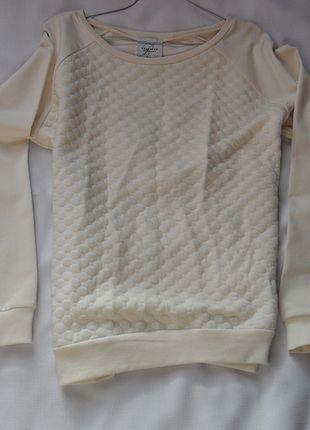 Kup mój przedmiot na #vintedpl http://www.vinted.pl/damska-odziez/bluzy/10385651-pikowana-bezowa-bluza-reserved-rozmiar-l