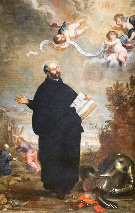 First General of the Jesuits: Saint Ignatius of Loyola became General of the Society of Jesus on April 19th, 1541.