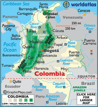 Image detail for -the lowdown santa marta is located in northern colombia by the ...