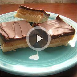 Caramel Shortbread Squares - Allrecipes.com