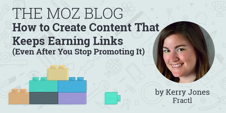 How to Create Content That Keeps Earning Links (Even After You Stop Promoting It)  http://mz.cm/2lhFIki via @snarkandpepperpic.twitter.com/aVep1RpGbX Florida SEO  Brevard SEO  SEO Biz Marketing