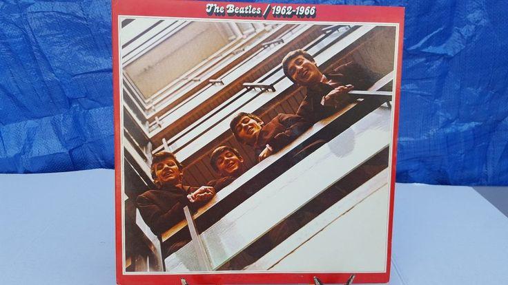 The Beatles - 1962-1966 (The Red Album) - Double Vinyl LP