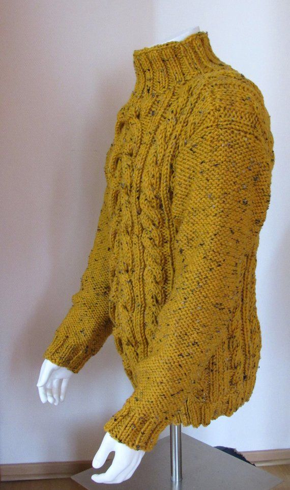 Chunky Twists Sweater Knit Men For Irish Sides Order To q4TAPP