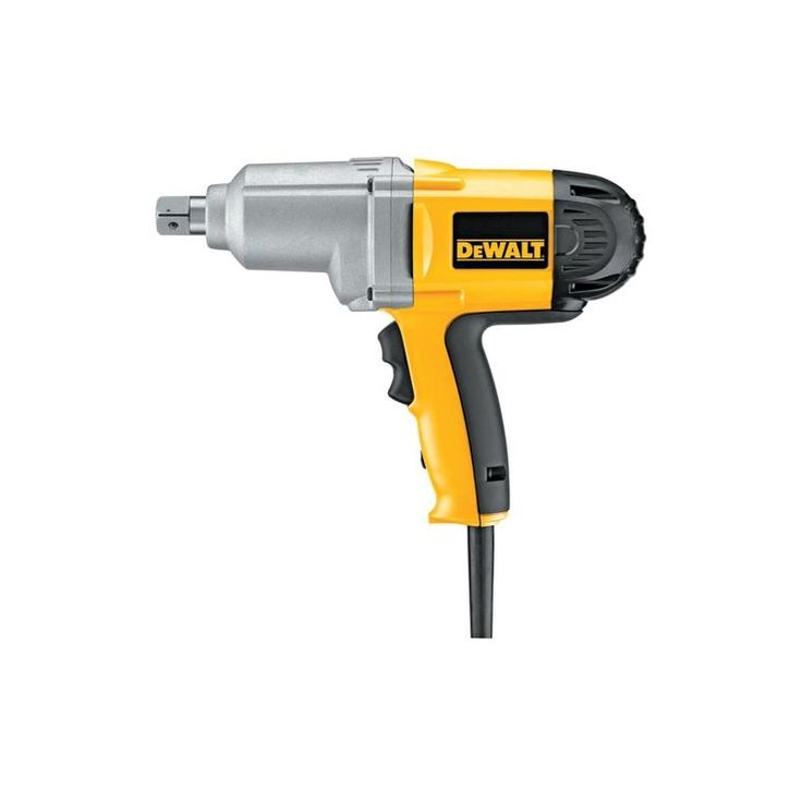 "Dewalt DW294 3/4"" Impact Wrench with Detent Pin Anvil and 345 Foot Pound Torque Power Tools Drills / Drivers Impact Wrenches"