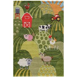 Farm Land Rug Novelty Rugs - aBaby.Com