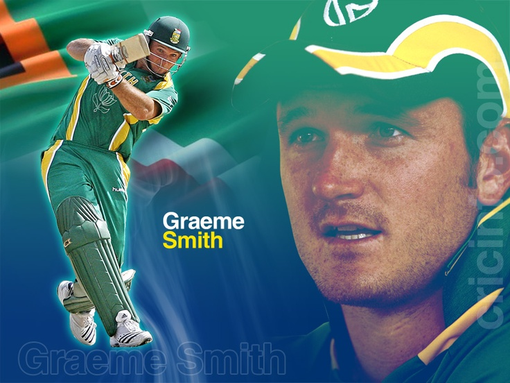Graeme Smith -  captain of the South African cricket team Test side