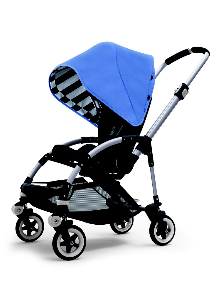 #Bugaboo Bee Jewel Blue Special Colour Nice stripe detail ♥