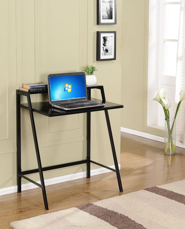 "Kings Brand Furniture Tempered Glass with Metal Computer Desk/Writing Table, Black. Kings Brand Black Tempered Glass With Metal Computer Desk / Writing Table. Use this desk for your computer work or as a drafting table. With its metal frame and tempered glass top. It is sure to be sturdy enough for any work that you do on it. Max weight capacity 150 lbs. Dimension: 35"" x 29"" x 20"". Simple assembly required."