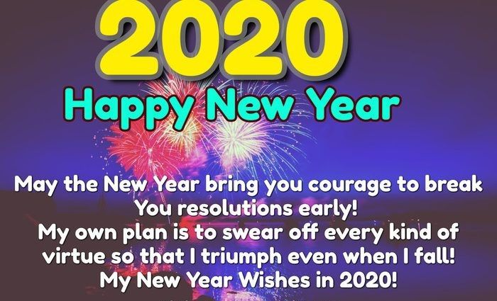 New Year Whatsapp Status 2020 In 2020 Happy New Year