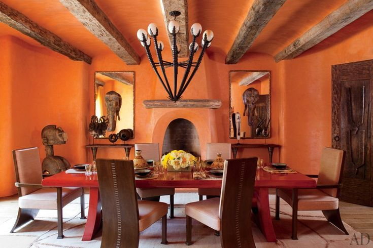 30 Amazing Celebrity Dining Rooms Will and Jada Smiths family haven in Calabasas California. Everything in their home is custom and hand made.