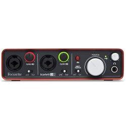 Focusrite Scarlett 2i2 Audio Interface (http://www.djcity.com.au/focusrite-scarlett-2i2-usb-audio-interface)