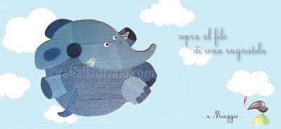 raffaelladivaio*illustrazione e creatività: LEGGERO COME UNA PIUMA SOPRA AL FILO DI UNA RAGNATELA elefante in cartone rivestito di tessuti jeans -lavori in corso- maggio a colori @raffaelladivaio.com