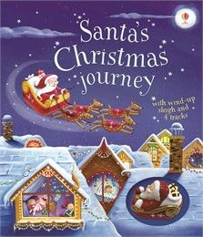 Usborne Wind-Up Santa's Christmas Journey