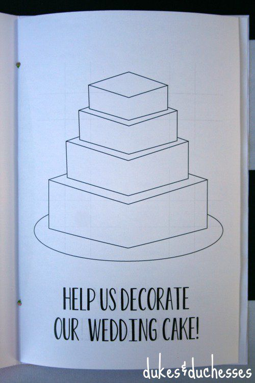 kids activity books for young wedding guests