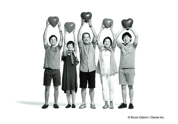 ブルース・オズボーンと親子写真~2014年「親子の日」に出会った親子~