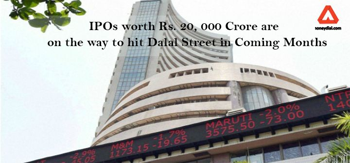 There is a rain fall of IPOs in D-Street. Many companies have lined up Initial Public Offerings worth Rs. 20, 000 crore in coming months. In the year 2016, 26 companies collectively raised more than 26, 000 crore through Initial Public Offering