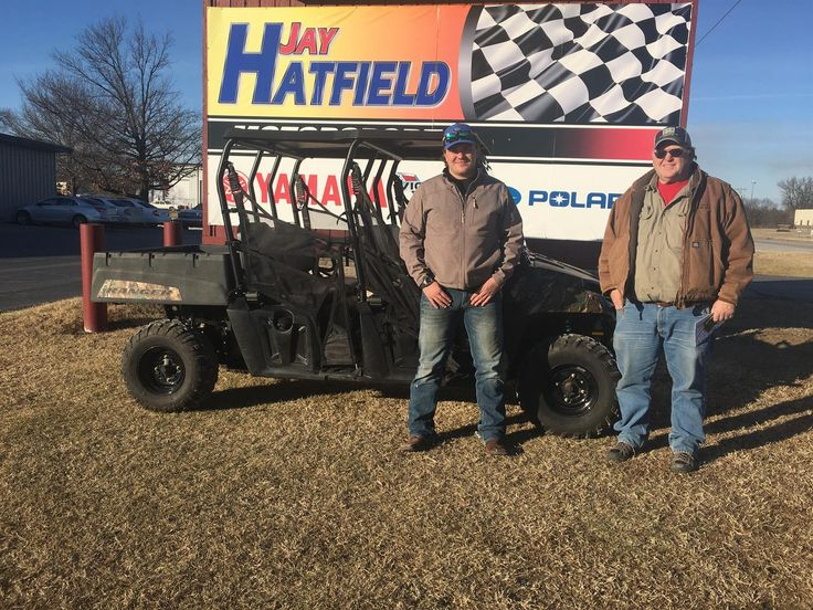 MIKE, congratulations on your new 2012 Polaris Ranger Crew 500-4!  Thank you again for the opportunity to earn your business, Jay Hatfield Motorsports and Kevin Swope.