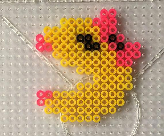 Kids Art Crafts DIY Kit Hobby Hama Beads Pacman Ms Pacman