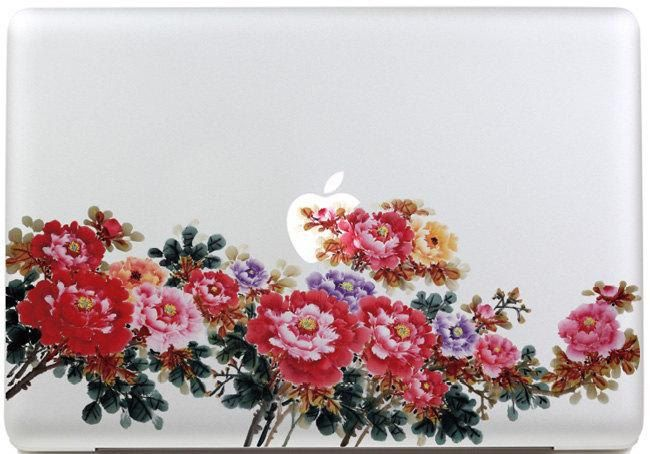 Apple decal macbook pro decals macbook air decal skin macbook pro retina decal vinyl macbook decals sticker Avery mac decals Apple Mac Decal by MixedDecal on Etsy