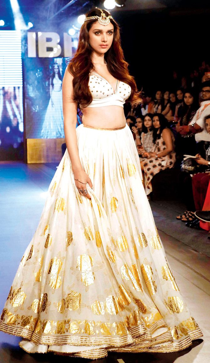 Aditi Rao Hydari at the India Beach Fashion Week 2015. #Bollywood #IBFW2015 #Fashion #Style #Beauty #Hot #Sexy