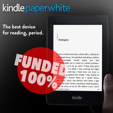 Kindle Paperwhite funded on Giftling @Amazon Kindle @kindlefreebies
